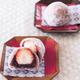 生地にもいちごを混ぜ込んで、ほんのりピンク色/調理:本間節子 撮影:新居明子