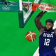米プロバスケットボール、ロサンゼルス・レイカーズのデマーカス・カズンズ(2016年8月21日撮影)。(c) Jewel SAMAD / AFP