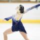 <西日本フィギュアスケート選手権第2日>女子フリー、演技をする河辺愛菜(撮影・小海途 良幹)