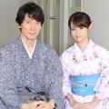 佐々木蔵之介と深田恭子がそれぞれのピンチを語った(写真:高