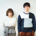 「ホリデイラブ」に出演中の(写真左から)仲里依紗、平岡祐太/撮