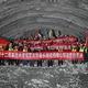 福廈高速鉄道で最長の楊梅山トンネル、無事に貫通 福建省