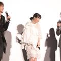 (左から)宮野真守、広瀬すず、菅田将暉