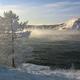 ロシア・東シベリアのバイカル湖(2000年12月11日撮影、資料写真)。(c)ALEXANDER NEMENOV / AFP