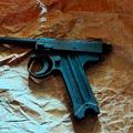 実家から見つかった十四年式拳銃(でみすけさん提供)