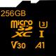 上海問屋から256GBの大容量で4Kなどの高画質な動画の保存に最適なマイクロSDXCカード
