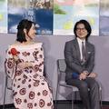 (左から)吉岡里帆、吉岡秀隆