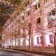 """日本橋の桜フェスティバル - 桜色ライトアップでお花見、約170店""""苺・桜""""限定スイーツやフードも"""