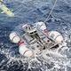南仏沖で行われた捜索には無人潜水機も投入された/Sebastien Chenal/Marine Nationale/Defense