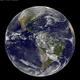 NOAAのGOES-East衛星により撮影された地球の画像。今回の研究成果によれば地球のような液体の水に覆われた地球型惑星は天の川銀河において珍しくないかもしれないという。(Image Credit: NASA/NOAA/GOESプロジェクト)