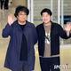 (写真提供=SPORTS KOREA)ポン・ジュノ監督(左)とソン・ガンホ