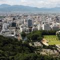 松山城から眺めた松山市 出典元:いよ観ネット