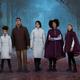 ディズニー『アナと雪の女王』アナやエルサの衣装モチーフのダウンアウター、コロンビアとコラボ
