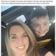 「脳を食べる虫では…」と思い込んだ母親とその息子(画像は『The Sun 2021年2月23日付「WORM WITH EMBARRASSMENT Mum mortified after 'brain-eating worm' in her eight-year-old son's ear turned out to be sticky tape」(Credit: Kennedy News and Media)』のスクリーンショット)