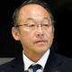 右代の代表内定取り消しについて、会見で説明する日本陸連・麻場強化委員長