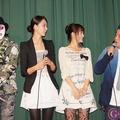 左から氏神一番・加藤夏希・小松彩夏・長州小力