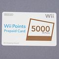 Wiiポイントプリペイド(表面)