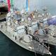 韓国海軍200トン級新型高速艇4隻進水式