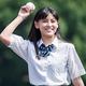 青春体験型野球ゲーム『八月のシンデレラナイン』のCMに出演している池田朱那さん