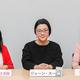 右から、「OTEKOMACHI」の小坂佳子編集長、ジェーン・スーさん、『婦人公論』の三浦愛佳編集長(撮影:本社写真部)