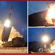 韓国軍合同参謀本部によると、北朝鮮は16日朝、江原道・通川付近から朝鮮半島東の東海上に飛翔体を2発発射した。写真は10日に北朝鮮が発射した飛翔体=(聯合ニュース)《転載・転用禁止》