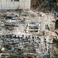 11月1日以降、首里城跡地では出火原因を究明するため、沖縄県警