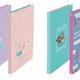 プラス 「フラットファイル A4 3冊パック」ディズニーデザイン