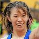 レスリング女子57キロ級の川井梨紗子