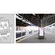 「けいきゅん」デザインのホームドア登場 京急鶴見駅に設置