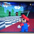 「スーパーマリオ64」の画面 (C)1996 NINTENDO CO.,LTD.