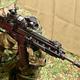 陸上自衛隊が更新する小銃「20式5.56mm小銃」=防衛省で2020年5月18日、宮間俊樹撮影