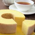 店内で焼いているバウムクーヘンと紅茶はサロンで楽しむことがで
