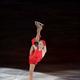 フィギュアスケートのGPシリーズ第3戦の中国杯。 ロシアのユリア・リプニツカヤはショートプログラムで首位にたったが、フリースケーティングで浅田真央に逆転され2位に。 写真は、エキシビションで演技するユリア・リプニツカヤ。 (写真:フォート・キシモト)  [2012年11月4日、上海オリエンタル・スポーツ・センター/中国]