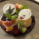 ランデブーラウンジで提供される「リサとガスパールのシブースト(※紅茶またはコーヒー付き)」(3000円)