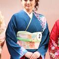 ミス日本ネイチャー、片山萌美さん