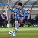山根は湘南、川崎で成長し、日本代表へ。そして初得点も決めた photo/Getty Images