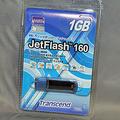 Trancend 1Gバイト USBフラッシュメモリー「TS1GJF160」2,068円