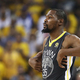 米プロバスケットボール(NBA)、ゴールデンステイト・ウォリアーズのケビン・デュラント(2018年6月3日撮影、資料写真)。(c)Ezra Shaw/Getty Images/AFP