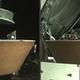 無人探査機オシリス・レックスのサンプルリターンカプセル。米航空宇宙局(NASA)提供(2020年10月29日提供)。(c)AFP PHOTO / NASA/Goddard/University of Arizona/Lockheed Martin