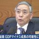 日銀の黒田総裁がGDPマイナス成長の可能性に言及 スイス・ダボス会議で