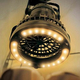LEDライトとミニ扇風機が合体!このミリタリー感がたまりません!
