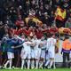 サッカー欧州選手権、予選グループF、スウェーデン対スペイン。ゴールを喜ぶスペインの選手(2019年10月15日撮影)。(c)Jonathan NACKSTRAND / AFP