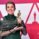 『女王陛下のお気に入り』で第91回アカデミー賞の主演女優賞を受賞したオリヴィア・コールマンさん(2019年2月24日撮影)。(c)FREDERIC J. BROWN / AFP