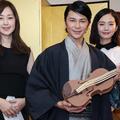 (左から)笛木優子、武田真治、中村ゆり