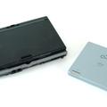 写真:CD-RW/DVD-ROMドライブが標準で装備になる。こちらもコン