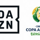 インターネット・スポーツチャンネルのDAZNとコパ・アメリカ2019の大会ロゴ