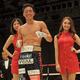 <ライト級10回戦>再起戦を6回TKOで飾った伊藤雅雪