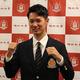 ドラフト日本ハム育成1位の福岡大・宮田は「自慢の足でアピールしたい」と腕まくり