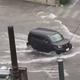 宮崎では120mm以上の猛烈な雨 数カ所で道路が冠水