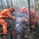 内モンゴル自治区の秀山森林火災、残火処理・監視段階に